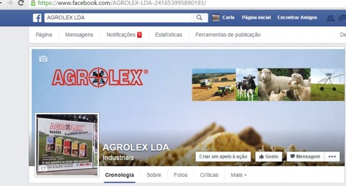 Agrolex's on facebook.
